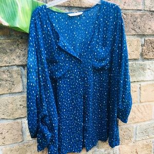 Old Navy Tops - Old Navy Plus Size Stylish Casual Blouse